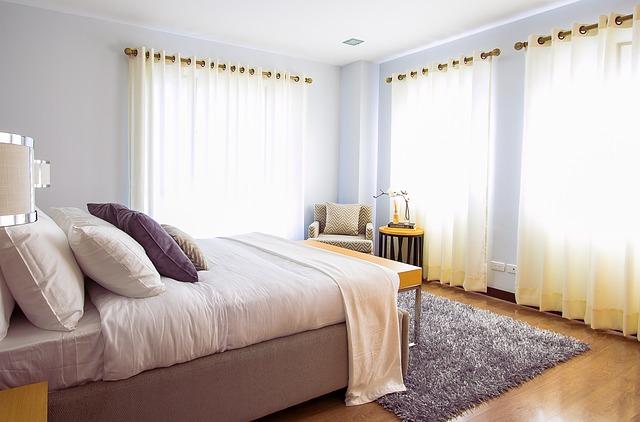 firany do sypialni nowoczesne